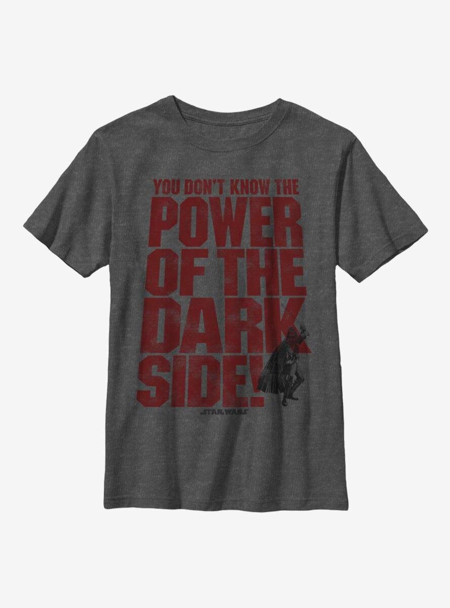 Star Wars Dark Side Power Youth T-Shirt