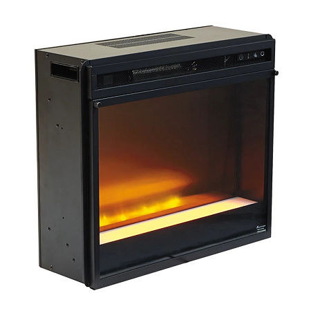 Signature Design by Ashley Gas Fireplace, One Size , Black
