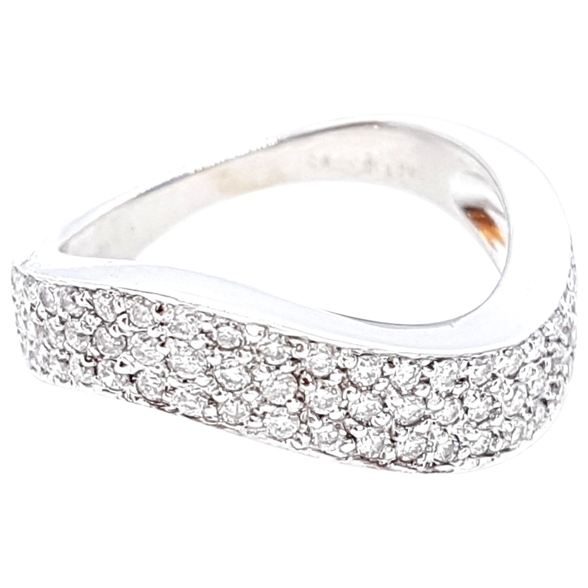 Autre Marque \N Silver White gold ring for Women 53 MM
