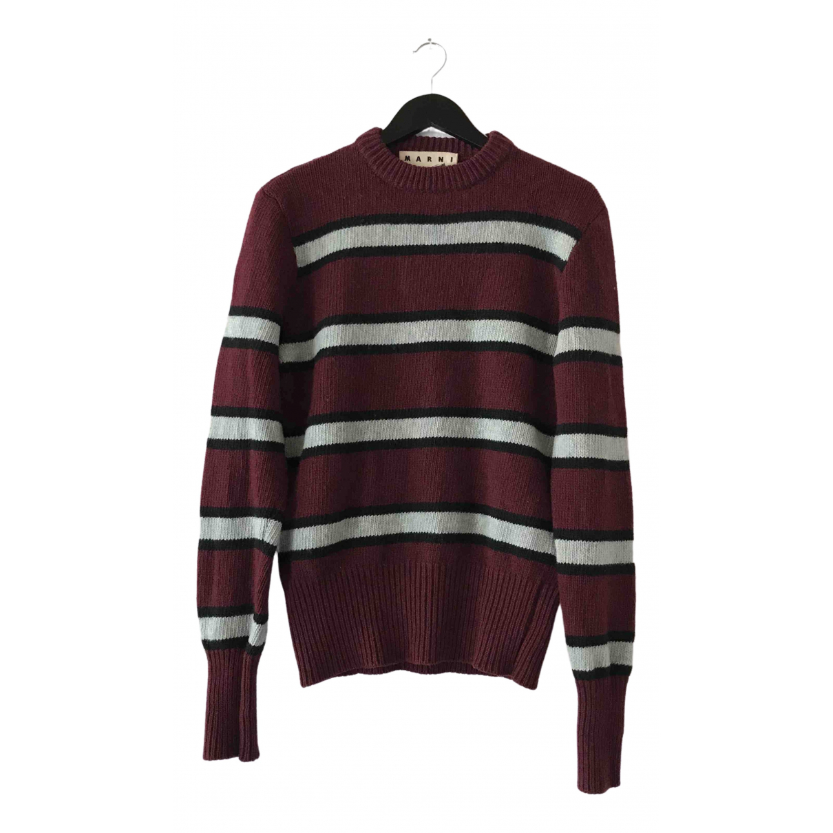 Marni \N Pullover in  Bordeauxrot Wolle