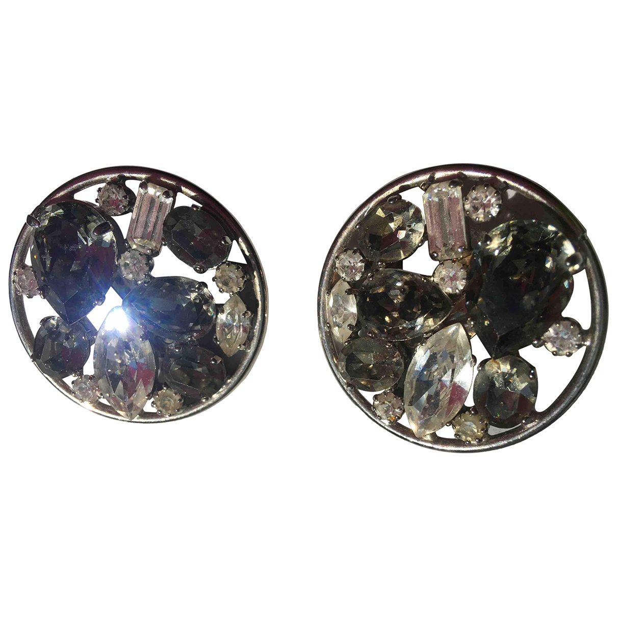 Non Signé / Unsigned \N Multicolour Crystal Earrings for Women \N