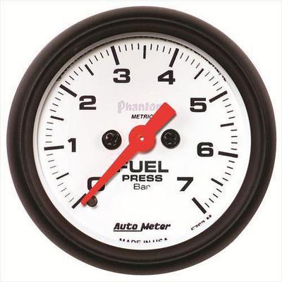 Auto Meter Phantom Electric Fuel Pressure Gauge - 5763-M