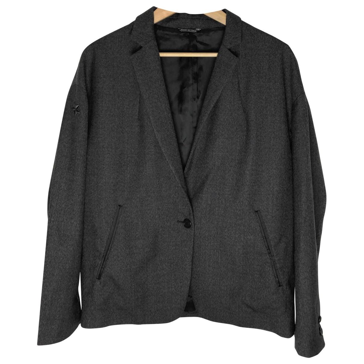 Acne Studios \N Grey Wool jacket for Women 38 FR