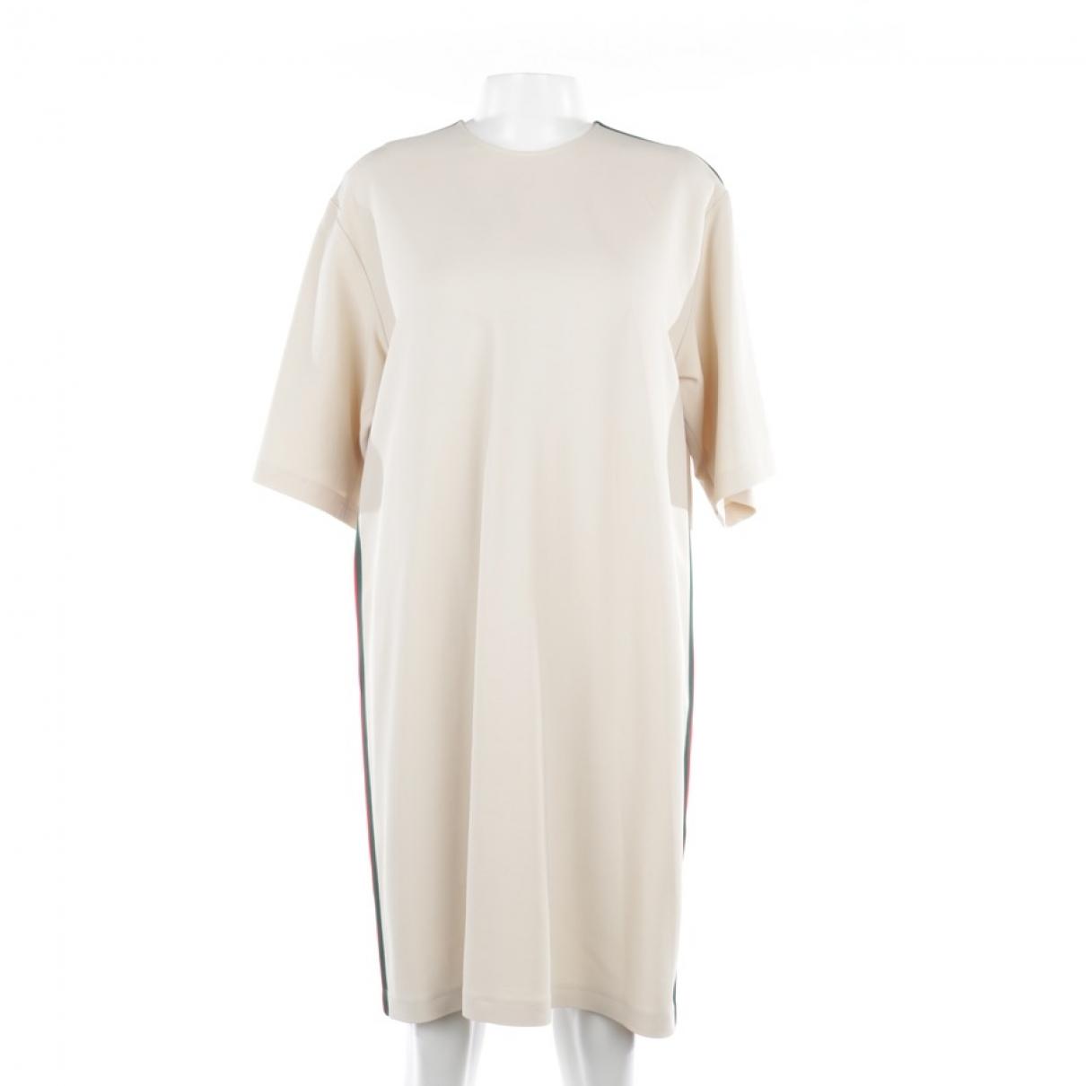 Gucci - Robe   pour femme - ecru