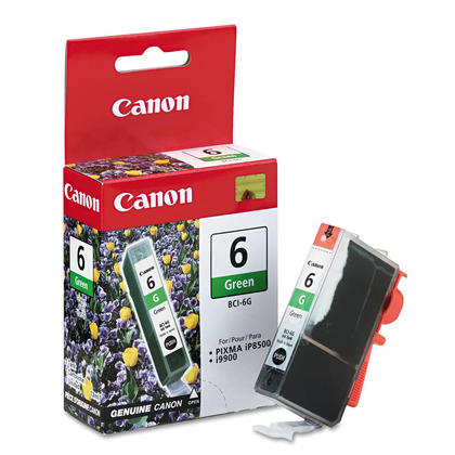 Canon BCI-6G Original Green Ink Cartridge