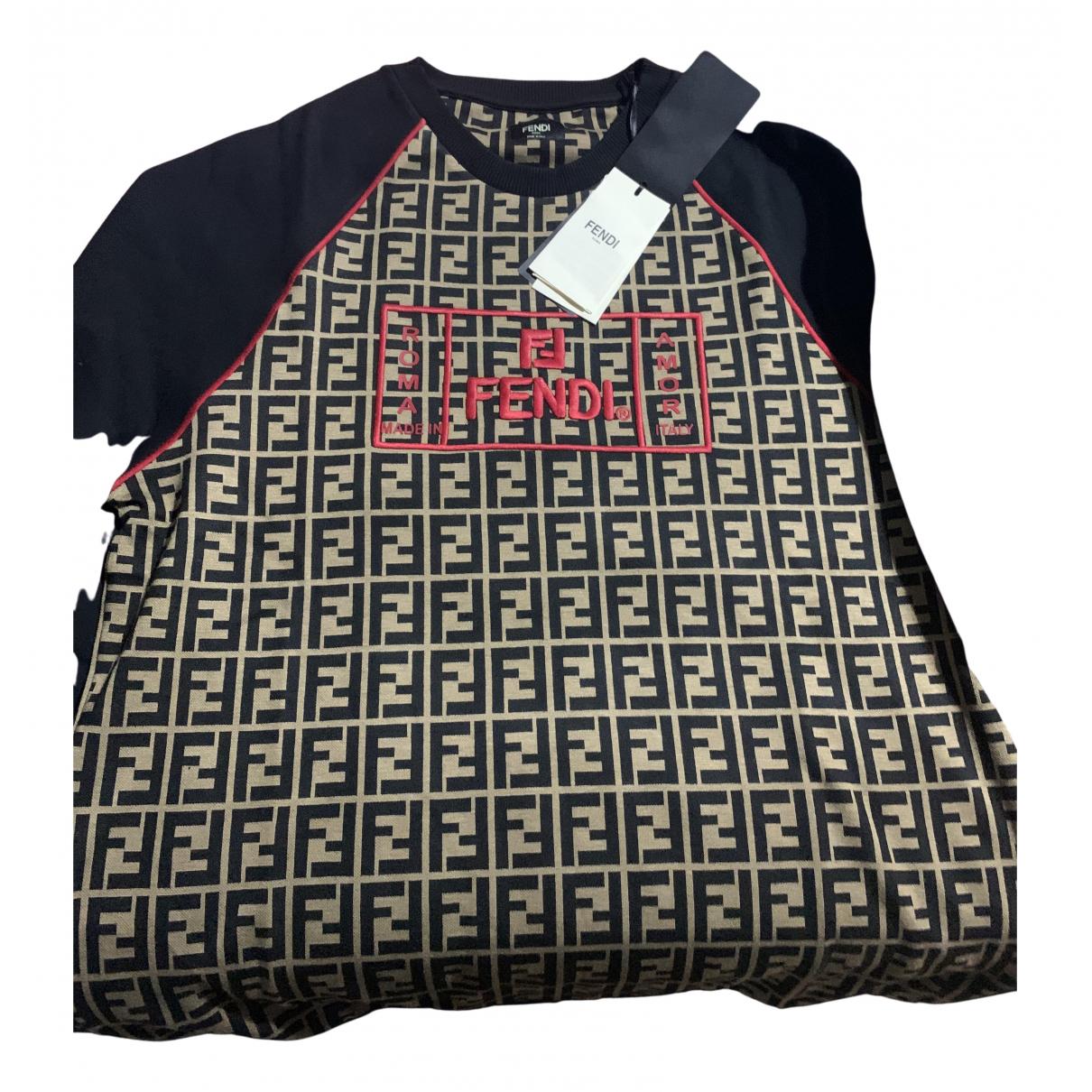Fendi \N Pullover.Westen.Sweatshirts  in Baumwolle