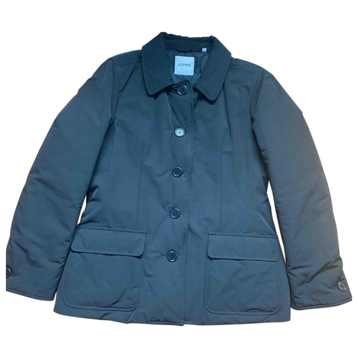 Aspesi - Manteau   pour femme en coton - noir
