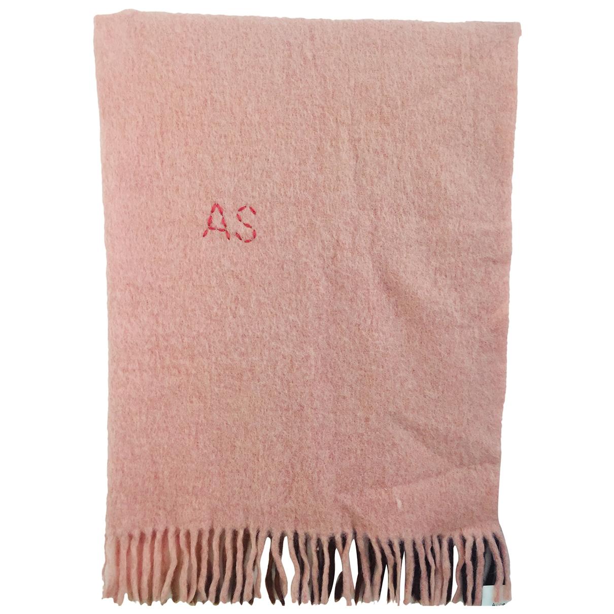 Acne Studios - Veste   pour femme en laine - rose