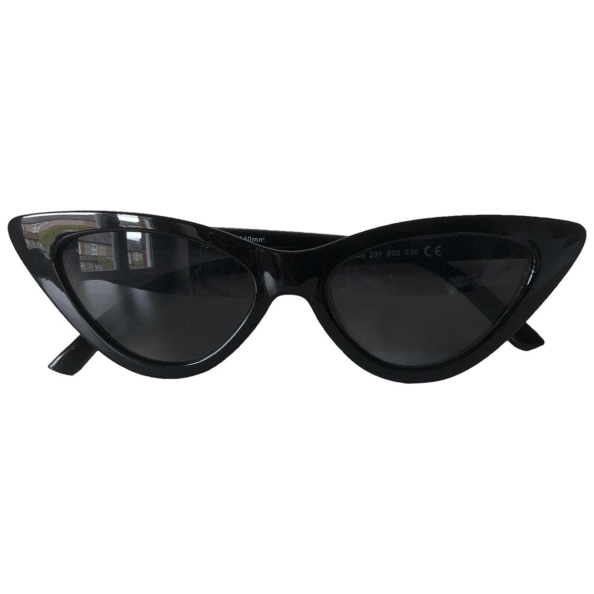 Zara \N Black Sunglasses for Women \N