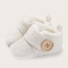 Baby Maedchen Stiefeletten mit Klettverschluss