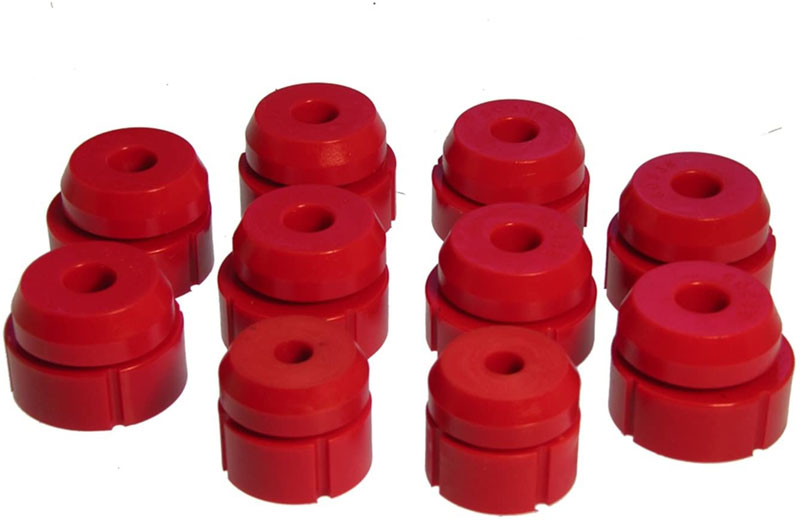 Prothane 6-107 Body Mount - Red Ford Bronco 1980-1996