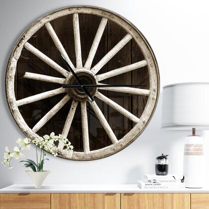 CLM047-C23 Sepia Country Wagon Wheel