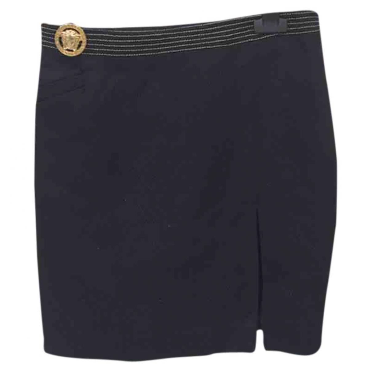 Versace Jeans \N Rocke in  Schwarz Synthetik