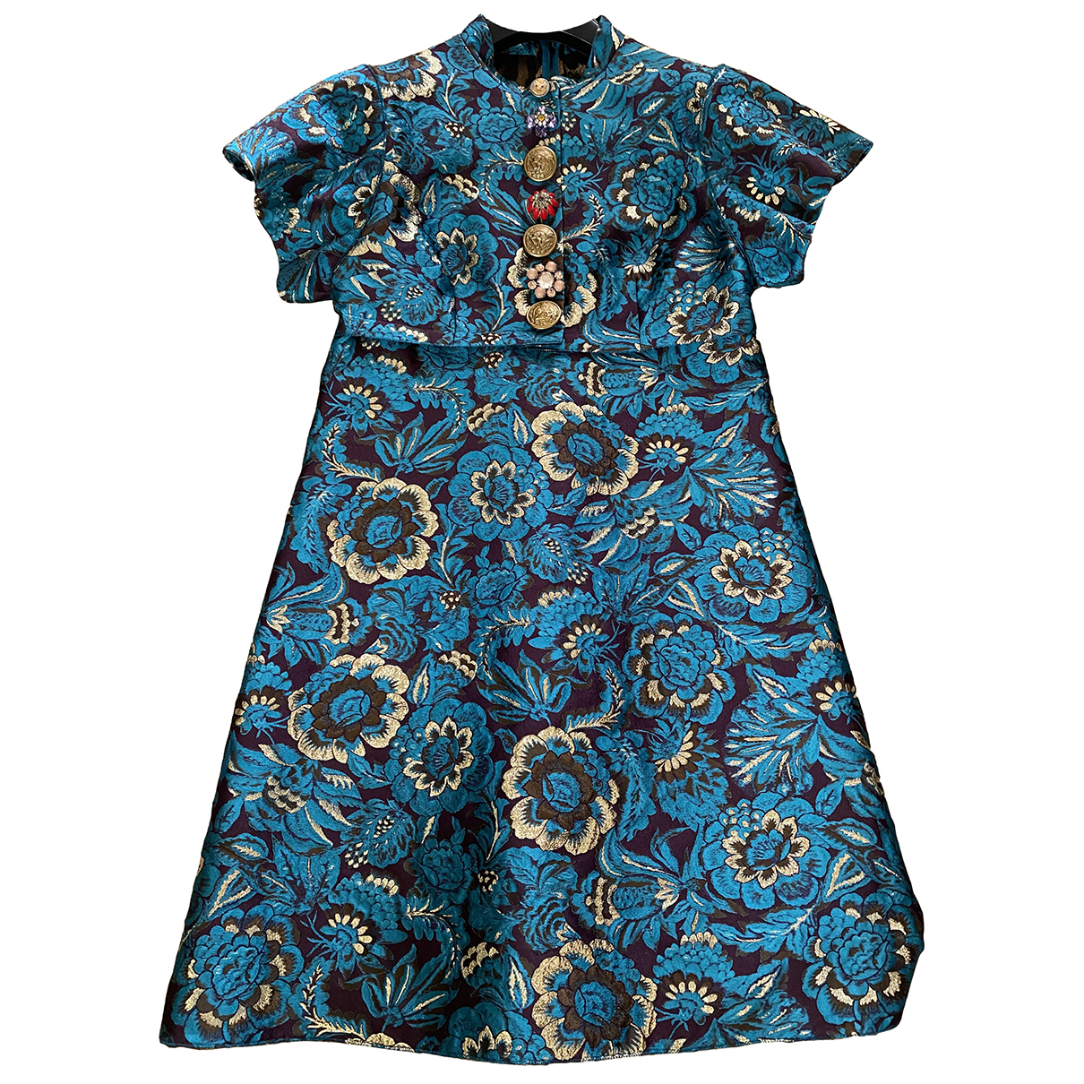 Dolce & Gabbana \N Kleid in  Blau Polyester