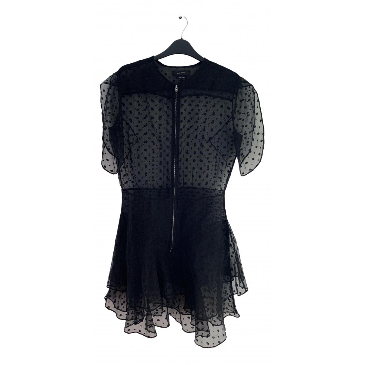 Isabel Marant - Robe   pour femme en soie - noir