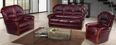 Sara SARA3-LVCH 3-Piece Living Room Set with Sofa  Loveseat and Chair in Antic