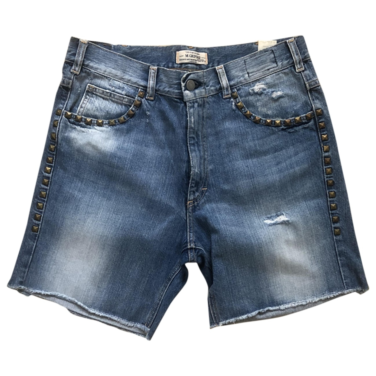 Mauro Grifoni \N Denim - Jeans Shorts for Women 42 IT