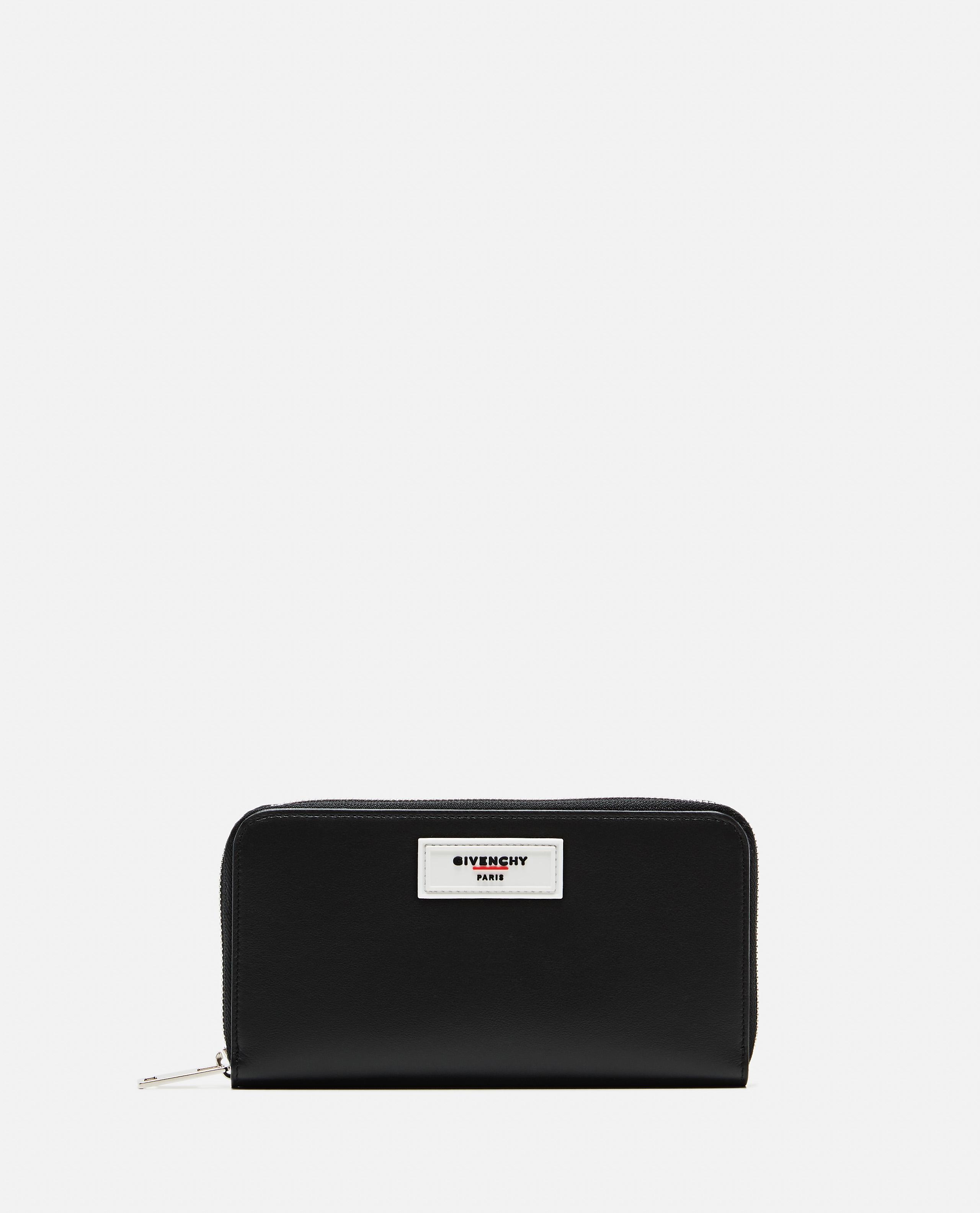Black smooth leather wallet