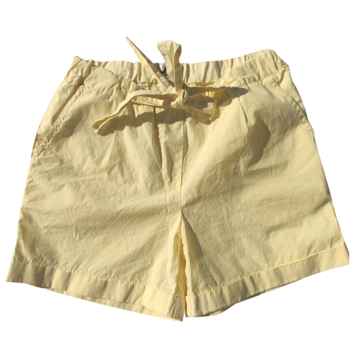 Fendi N Yellow Cotton Shorts for Kids 8 years - up to 128cm FR