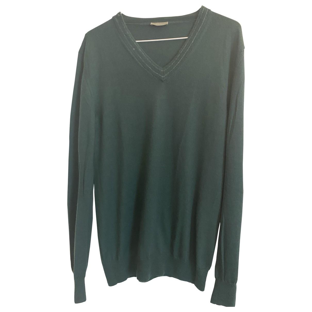 Dior Homme \N Green Cashmere Knitwear & Sweatshirts for Men M International