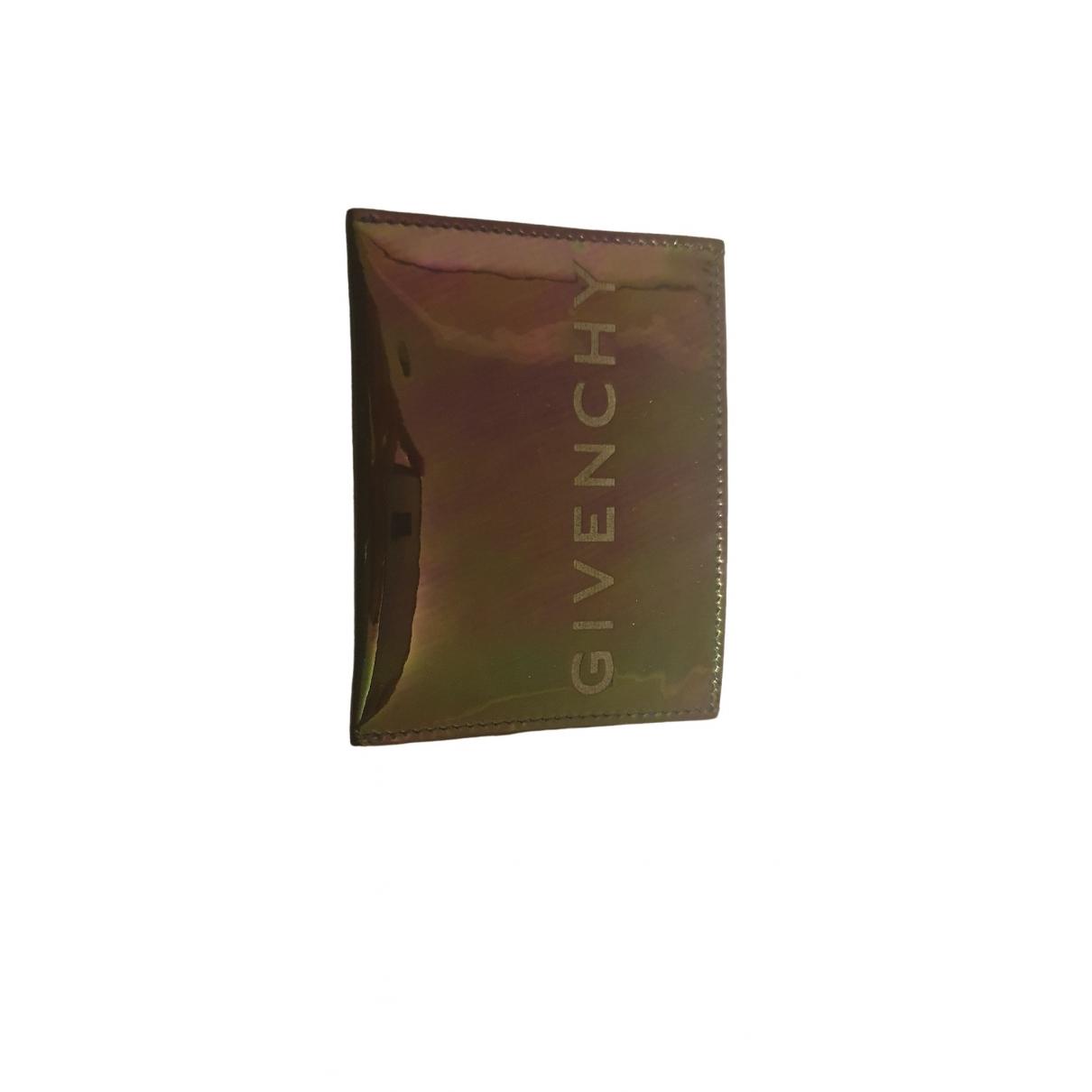 Givenchy \N Kleinlederwaren in  Lila Lackleder