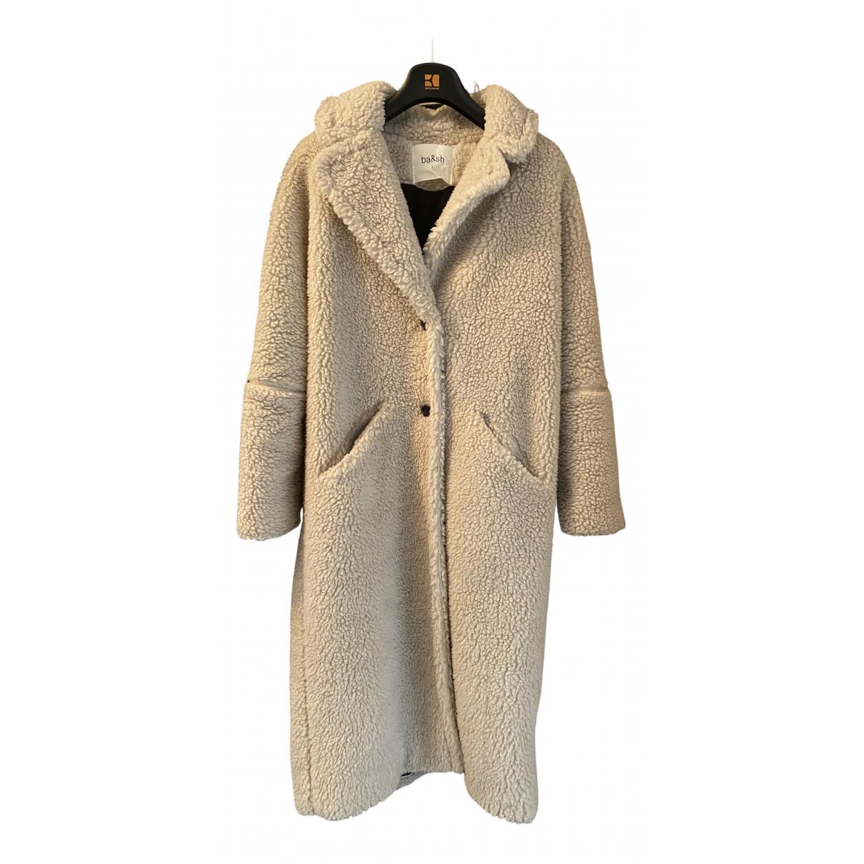 Ba&sh - Manteau   pour femme - ecru