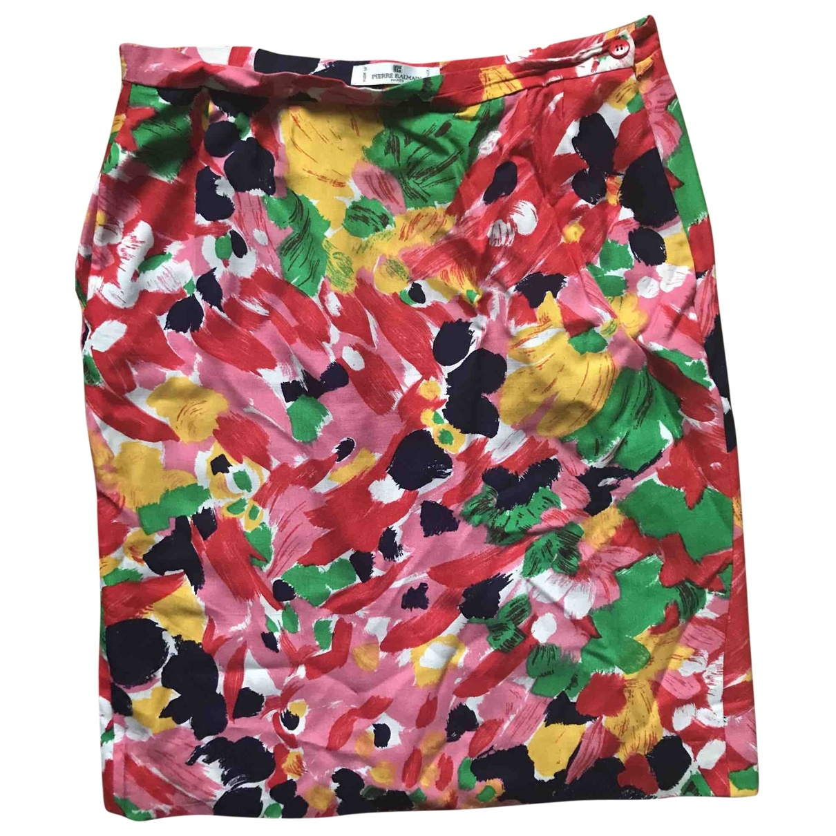 Pierre Balmain \N Pink skirt for Women 42 FR