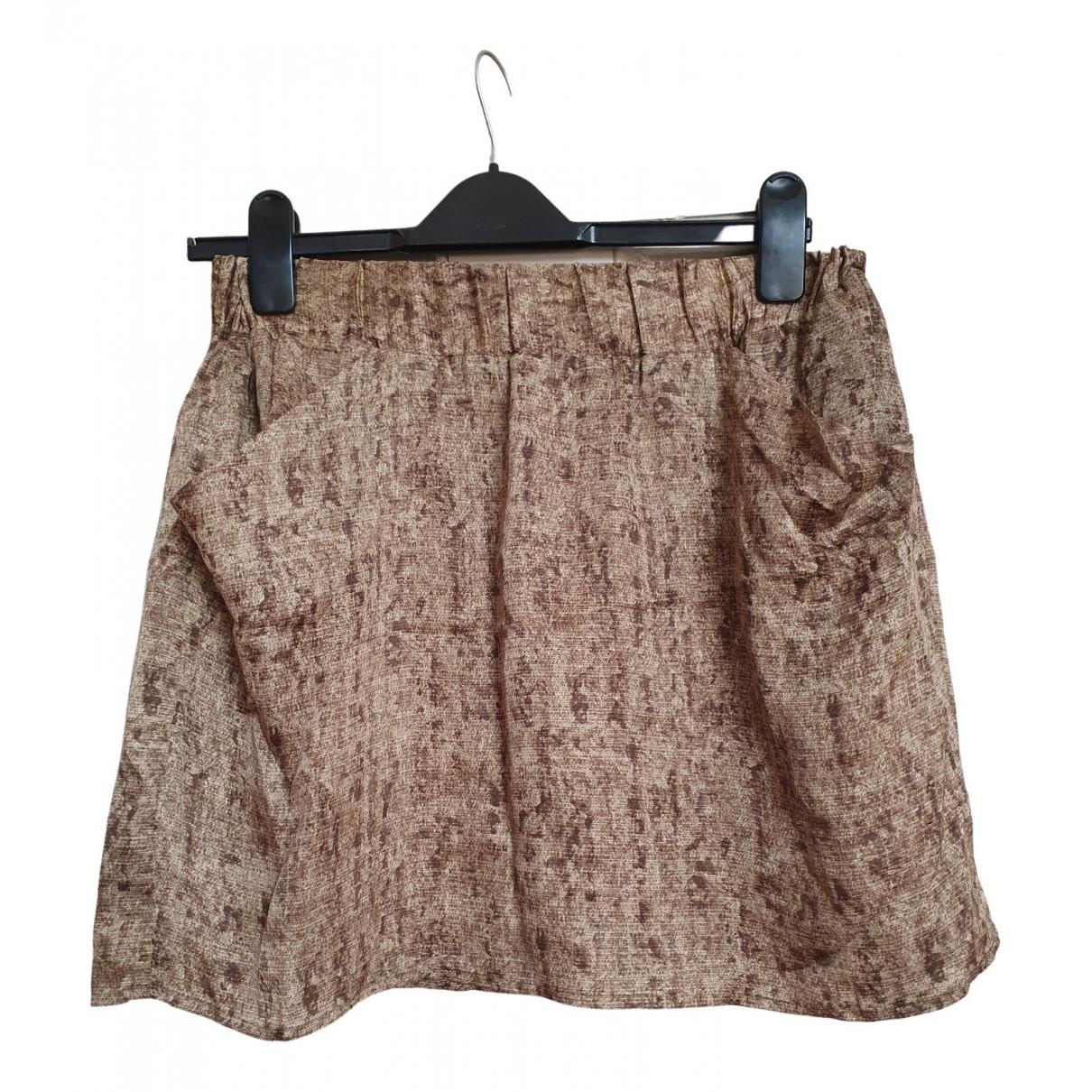Michael Kors \N Gold Silk skirt for Women 4 US
