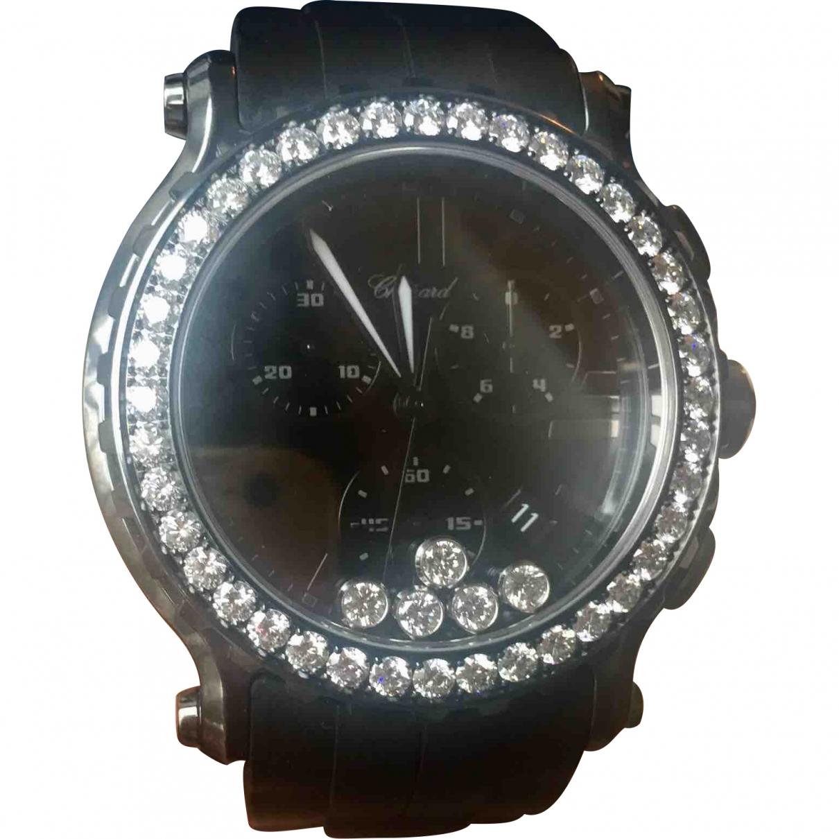 Chopard Happy Sport Uhr in  Schwarz Stahl
