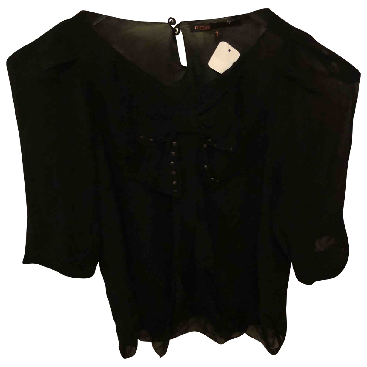 Maje \N Black  top for Women 38 FR