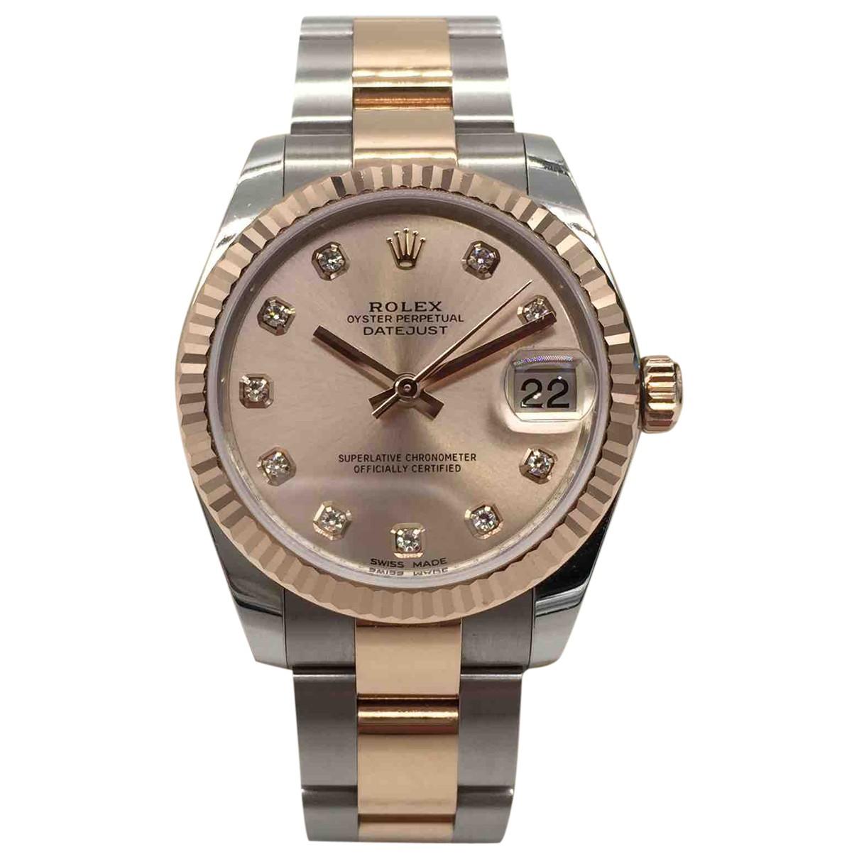 Rolex Datejust 31mm Uhr in Gold und Stahl