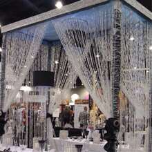 5M Crystal Bead Curtain Decoration