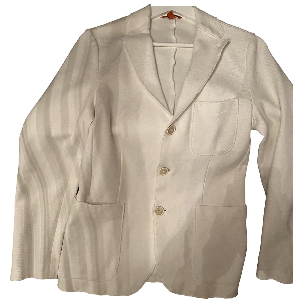 Barena Venezia - Vestes.Blousons   pour homme en coton - blanc