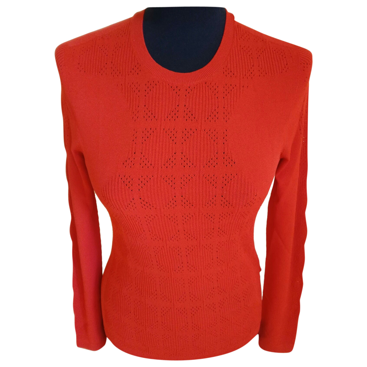 Versace \N Red Knitwear for Women 44 IT
