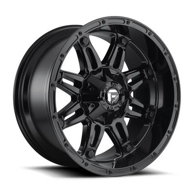 MHT Fuel Offroad Hostage D625, 20x9 Wheel with 6 on 135 Bolt Pattern - Gloss Black - D62520909845
