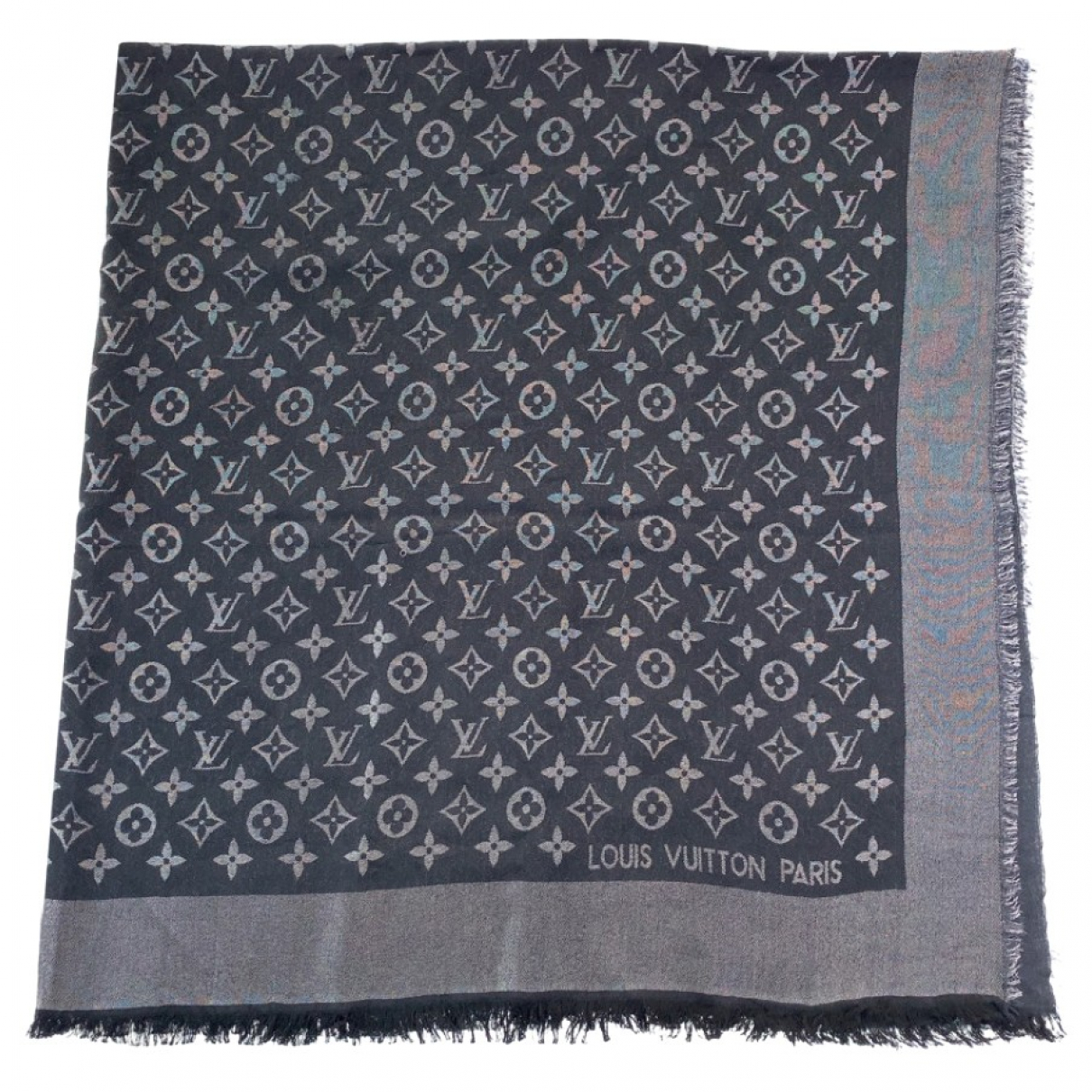 Louis Vuitton \N Black Silk scarf for Women \N