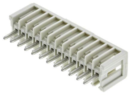 Wago , MCS, 12 Way, 1 Row, Right Angle PCB Header (5)