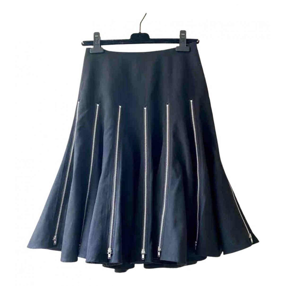 Junya Watanabe - Jupe   pour femme en laine - noir