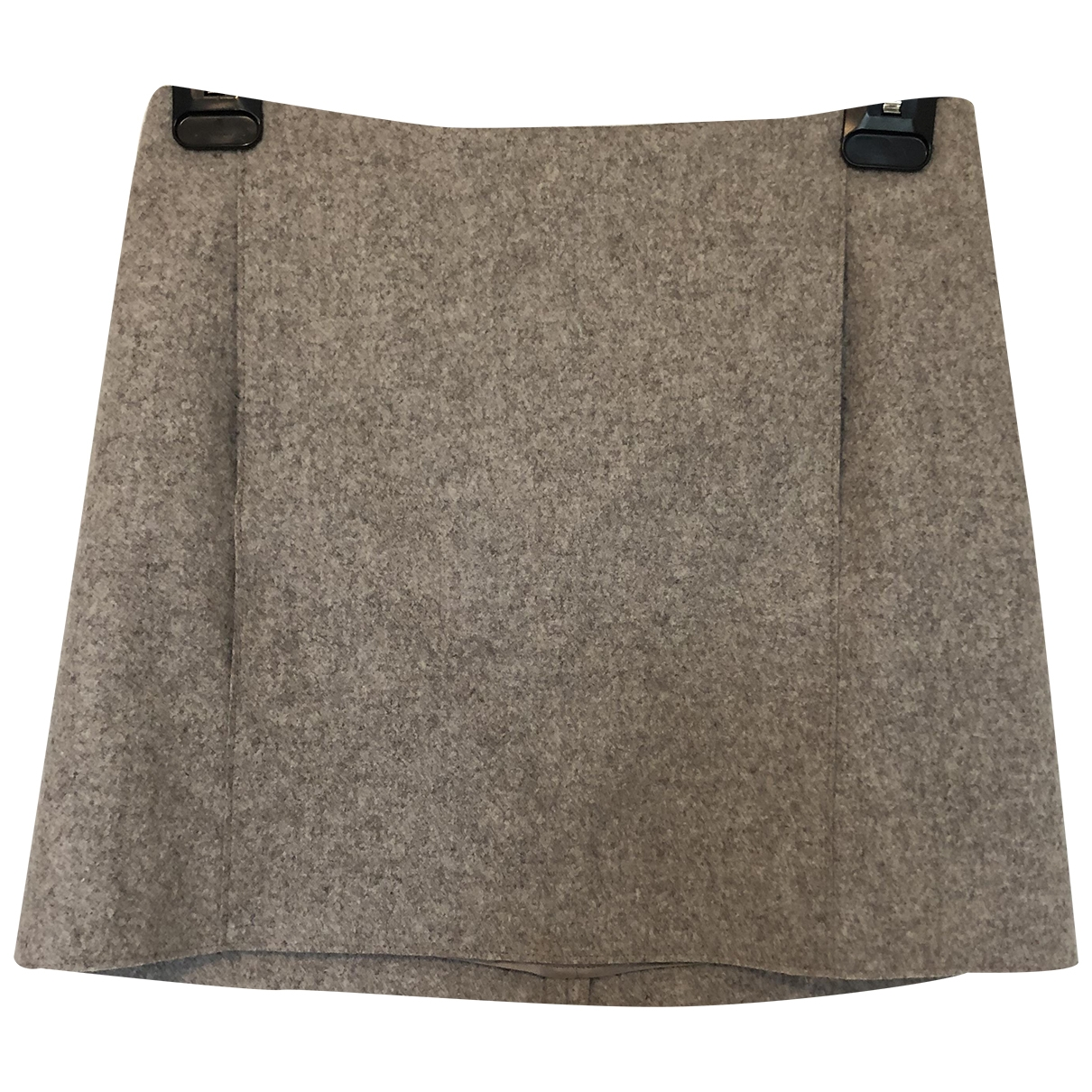 Cos \N Beige Wool skirt for Women 34 FR