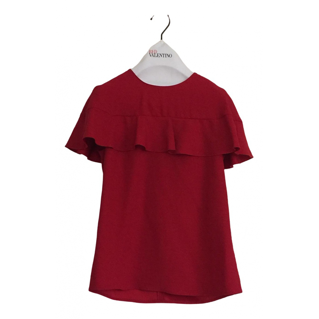 Red Valentino Garavani - Top   pour femme - rouge