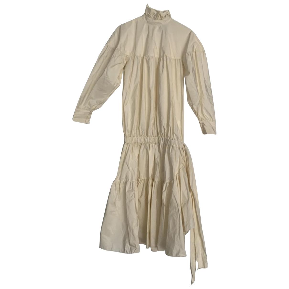 Kenzo - Robe   pour femme - beige