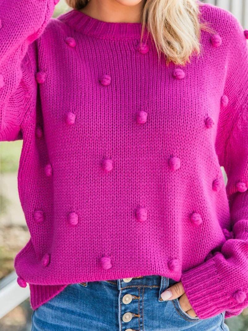 Ericdress Regular Thin Thread Long Sleeve Loose Sweater