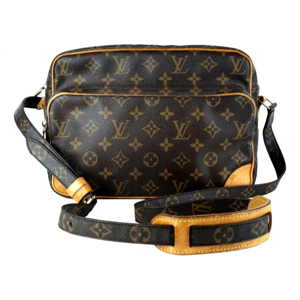 Louis Vuitton - Sac a main Nile pour femme en toile - marron