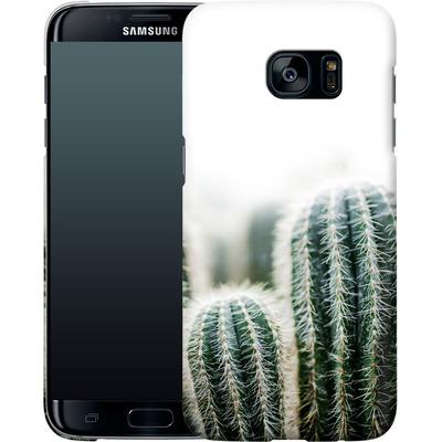 Samsung Galaxy S7 Edge Smartphone Huelle - Cactus 1 von Mareike Bohmer