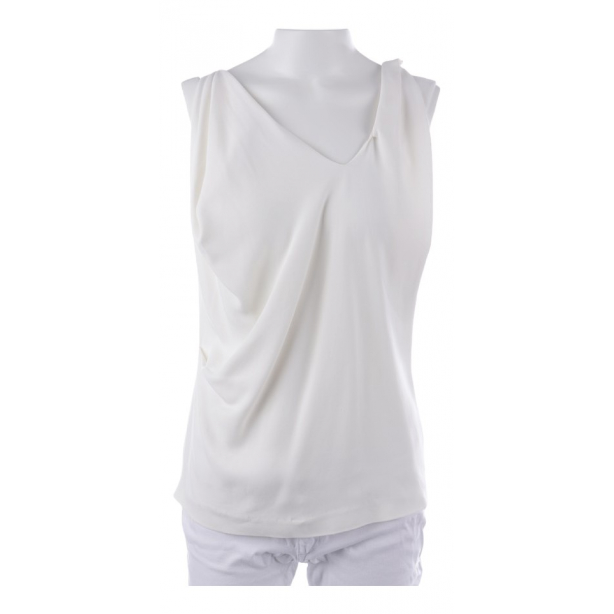 Roland Mouret \N Top in  Weiss Polyester