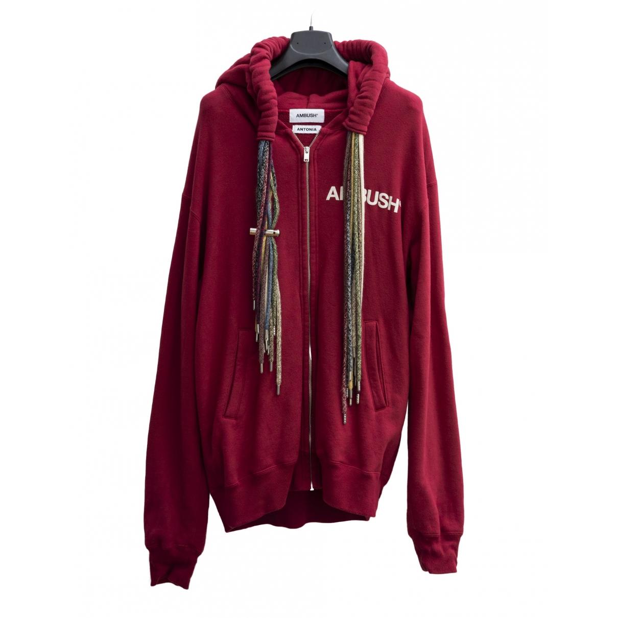 Ambush \N Red Cotton Knitwear & Sweatshirts for Men 2 0 - 6