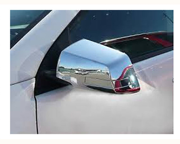 Quality Automotive Accessories Chrome Plated ABS Plastic 4-Piece Mirror Cover Set Chevrolet Traverse 2014
