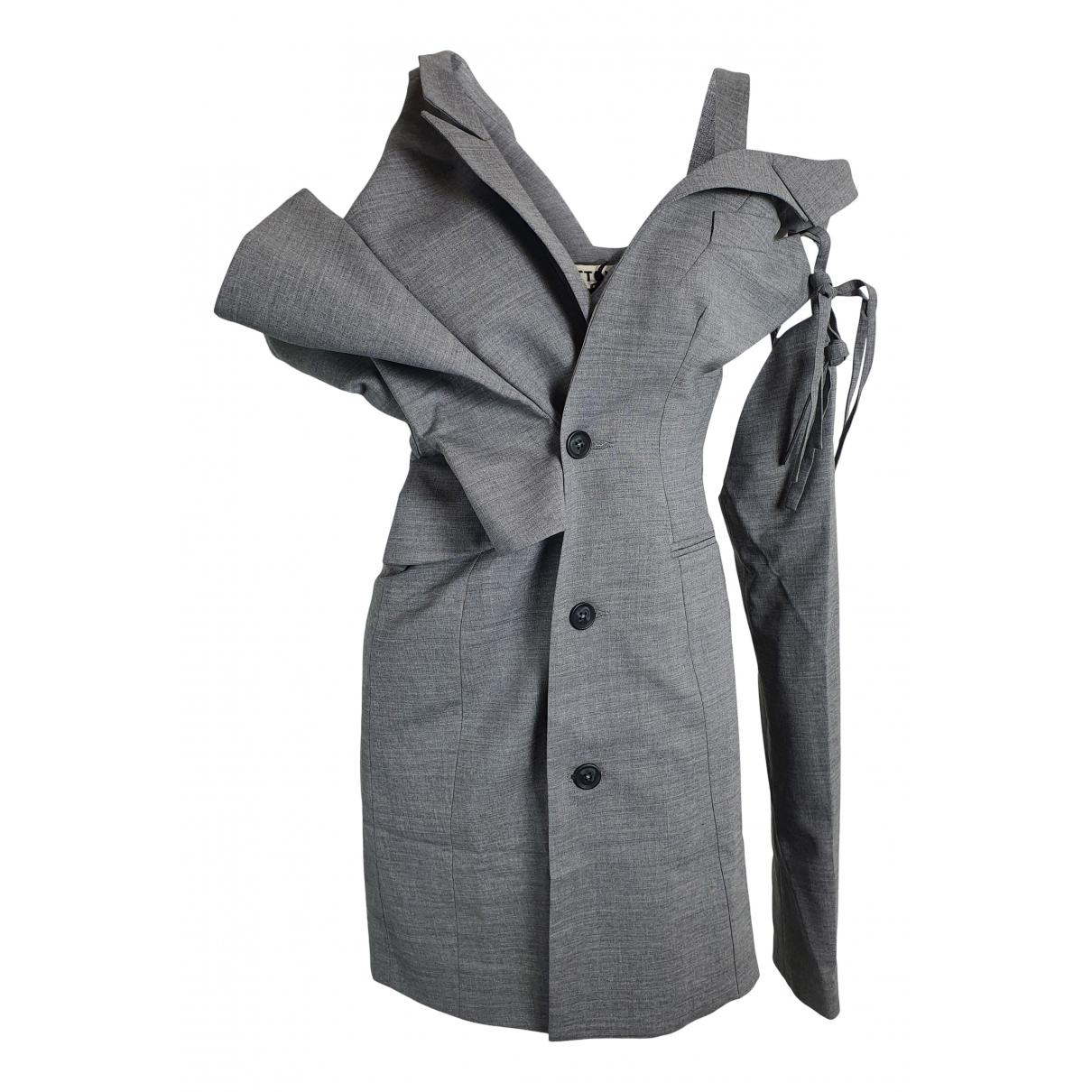 Ottolinger \N Kleid in  Grau Wolle