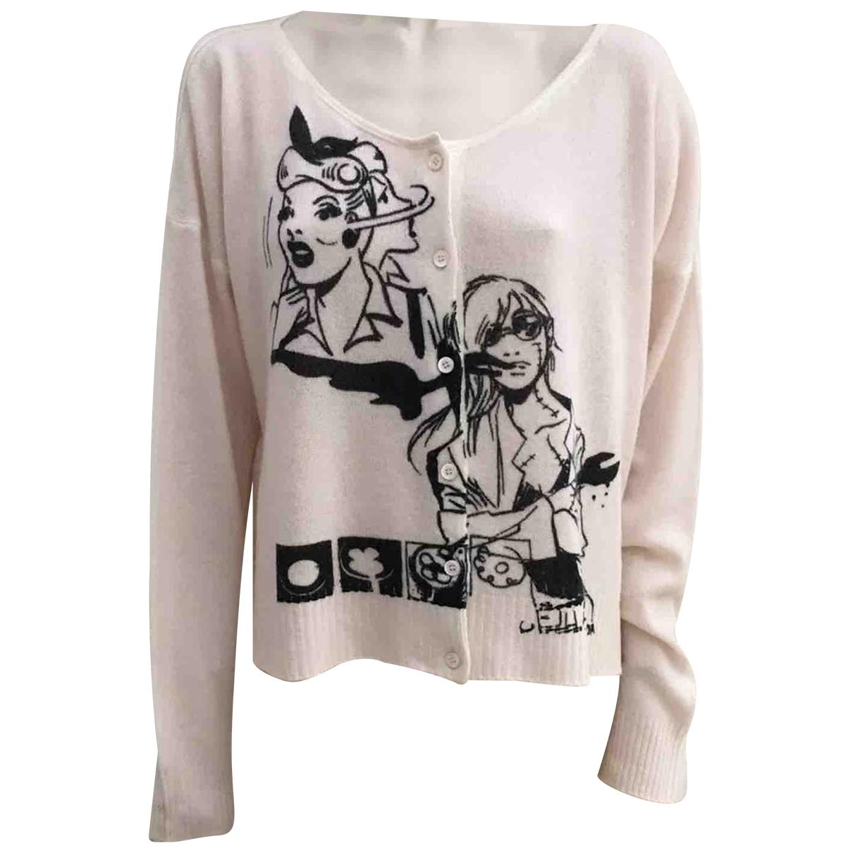Prada \N Pullover in  Rosa Kaschmir