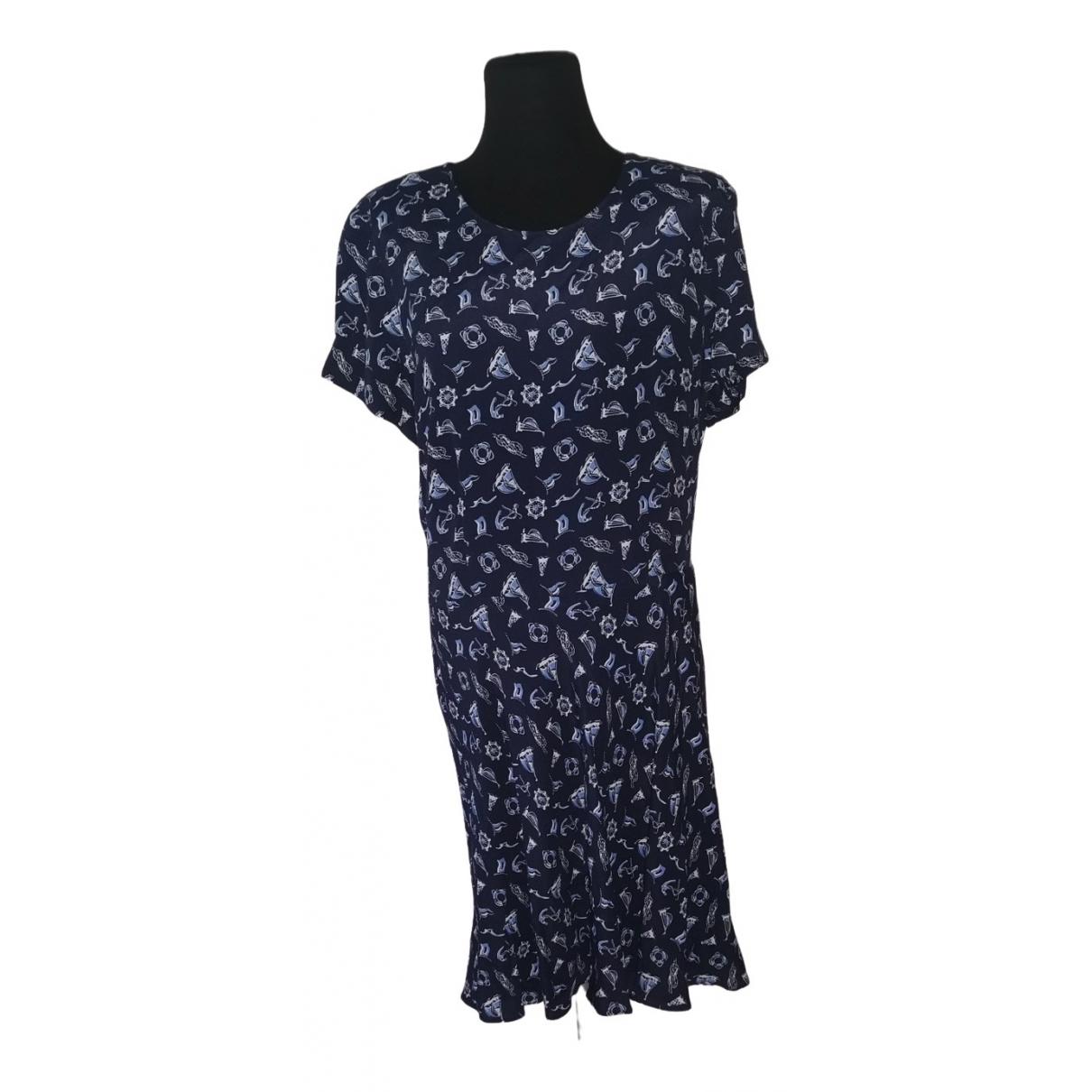 Polo Ralph Lauren \N Kleid in  Blau Viskose